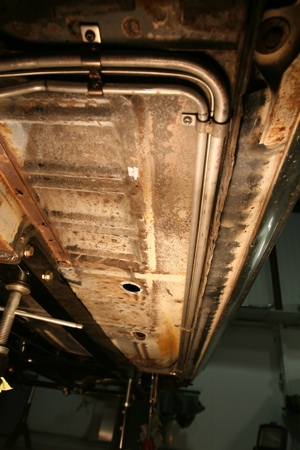 Tips for installing fuel lines and brake lines on antique, vintage, old, used or classic cars or trucks - step 10