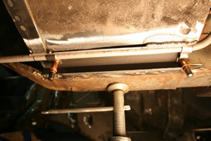 Tips for installing fuel lines and brake lines on antique, vintage, old, used or classic cars or trucks - step 6