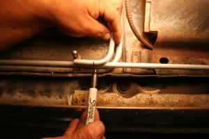 Tips for installing fuel lines and brake lines on antique, vintage, old, used or classic cars or trucks - step 8