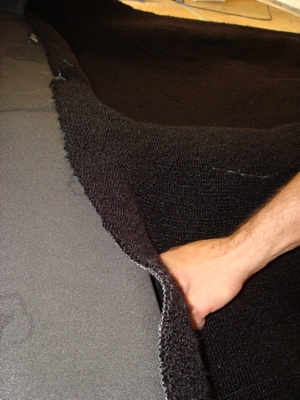 How to install carpet in an antique, vintage, old, used or classic car or truck - step 20