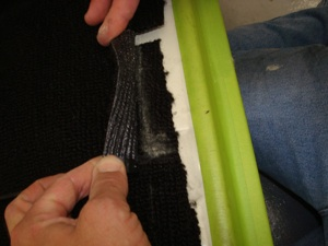 How to install carpet in an antique, vintage, old, used or classic car or truck - step 37