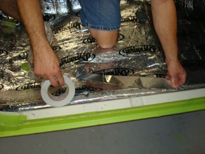 How to install carpet in an antique, vintage, old, used or classic car or truck - step 4