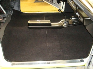 How to install carpet in an antique, vintage, old, used or classic car or truck - step 40