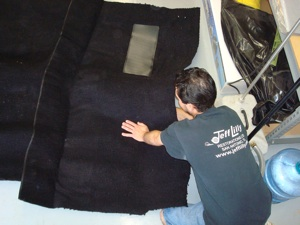 How to install carpet in an antique, vintage, old, used or classic car or truck - step 5