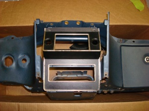 Installing a radio or CD player in the dash of an antique, vintage or classic car or truck step 1