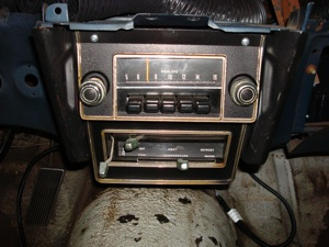 Installing a radio or CD player in the dash of an antique, vintage or classic car or truck step 26