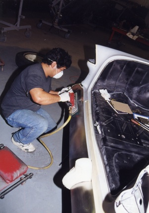 Chrome plating for your antique, vintage, old, used or classic car or truck - step 12