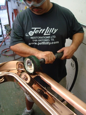 Chrome plating for your antique, vintage, old, used or classic car or truck - step 35