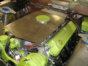 How to make a custom air cleaner for an antique, vintage or classic car or truck step 12