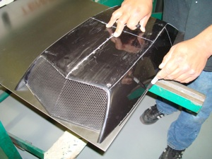How to make a custom air cleaner for an antique, vintage or classic car or truck step 8