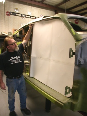 Building a custom door for your antique, vintage, old, used or classic car or truck - step 1