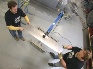Building a custom door for your antique, vintage, old, used or classic car or truck - step 12