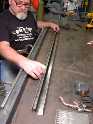 Building a custom door for your antique, vintage, old, used or classic car or truck - step 19