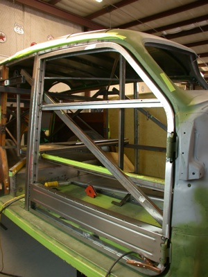 Building a custom door for your antique, vintage, old, used or classic car or truck - step 21