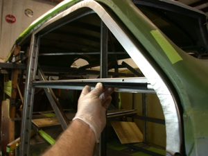 Building a custom door for your antique, vintage, old, used or classic car or truck - step 22