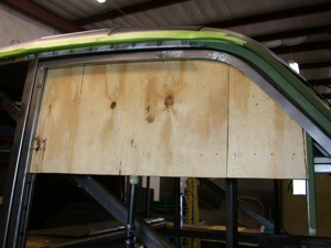 Building a custom door for your antique, vintage, old, used or classic car or truck - step 24