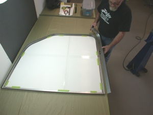 Building a custom door for your antique, vintage, old, used or classic car or truck - step 4