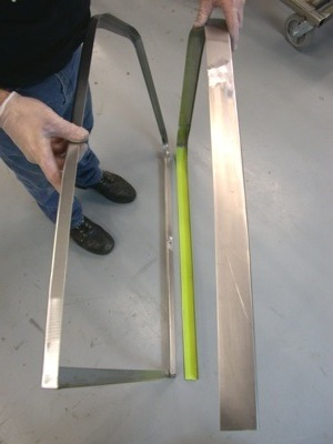 Building a custom door for your antique, vintage, old, used or classic car or truck - step 5