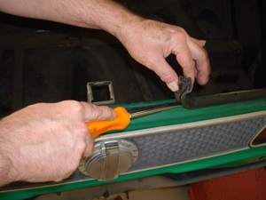 How to disassemble and organize parts when restoring an  antique, vintage, old, used or classic car or truck - step 16