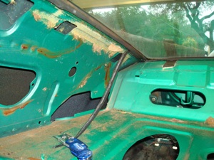 How to disassemble and organize parts when restoring an  antique, vintage, old, used or classic car or truck - step 22