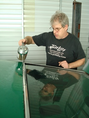 How to disassemble and organize parts when restoring an  antique, vintage, old, used or classic car or truck - step 5