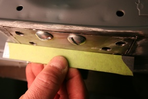 How to repair hinges and align doors on antique, vintage, old, used or classic cars or trucks - step 10