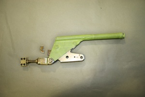 How to relocate the emergency brake handle on antique, vintage, old, used or classic cars or trucks - step 2