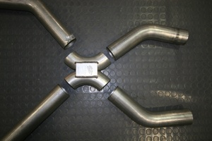 How to build a custom exhaust system on antique, vintage, old, used or classic cars or trucks - step 11