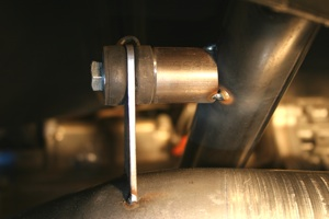 How to build a custom exhaust system on antique, vintage, old, used or classic cars or trucks - step 19