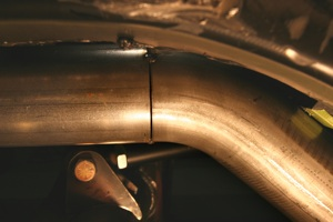 How to build a custom exhaust system on antique, vintage, old, used or classic cars or trucks - step 25