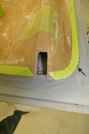 How to modify an antique, vintage, old, used or classic car or truck hood using fiberglass - step 30