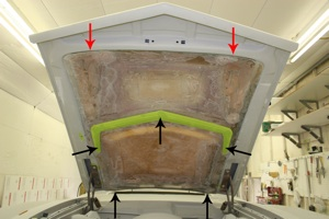 How to modify an antique, vintage, old, used or classic car or truck hood using fiberglass - step 35
