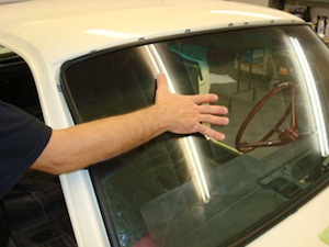How to replace windshield glass in an antique, vintage, old, used or classic car or truck - step 13