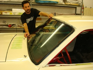 How to replace windshield glass in an antique, vintage, old, used or classic car or truck - step 10
