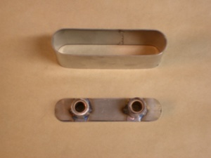 How to build a custom hidden door handle  on antique, vintage, old, used or classic cars or trucks - step 2