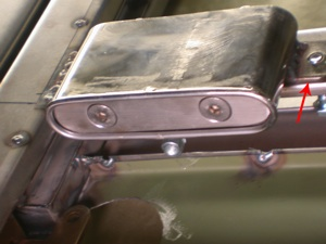 How to build a custom hidden door handle  on antique, vintage, old, used or classic cars or trucks - step 9