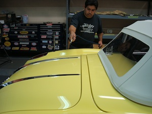 How to polish and detail an antique, vintage, old, used or classic car or truck - step 1