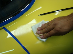 How to polish and detail an antique, vintage, old, used or classic car or truck - step 17
