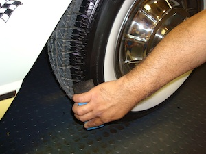How to polish and detail an antique, vintage, old, used or classic car or truck - step 25