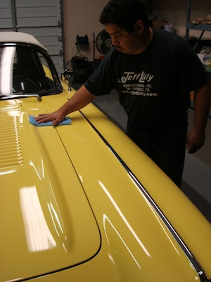How to polish and detail an antique, vintage, old, used or classic car or truck - step 4