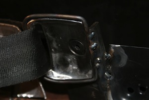 How to make hidden seatbelt retractors for an antique, vintage, old, used or classic car or truck - step 26