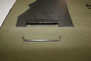 How to make hidden seatbelt retractors for an antique, vintage, old, used or classic car or truck - step 4