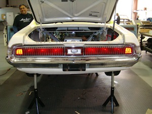 How to install sequential turn signals in an antique, vintage, old, used or classic car or truck - step 14