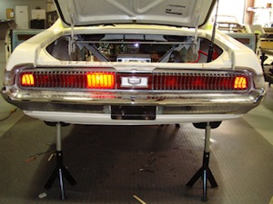 How to install sequential turn signals in an antique, vintage, old, used or classic car or truck - step 15