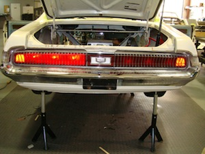 How to install sequential turn signals in an antique, vintage, old, used or classic car or truck - step 16