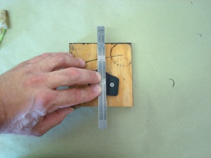 Making a new nylon guide for an antique, vintage, old, used or classic car or truck - step 18