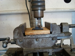 Making a new nylon guide for an antique, vintage, old, used or classic car or truck - step 20