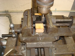 Making a new nylon guide for an antique, vintage, old, used or classic car or truck - step 8