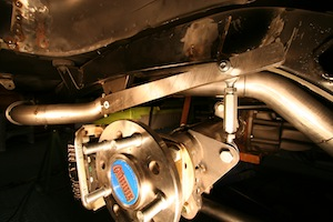 Installing a sway bar in an antique, vintage, old, used or classic car or truck - step 13