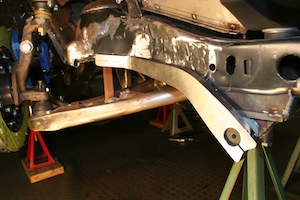 Installing a sway bar in an antique, vintage, old, used or classic car or truck - step 21
